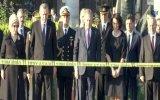 Cumhurbaşkanı Erdoğan'ın Patlama Bölgesine Karanfil Bırakması