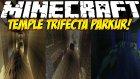 Minecraft SANİYELERE GÖRE RÜTBE VEREN PARKUR HARİTASI !! (Temple Trifecta) (1.8.1)