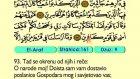 09. El Araf 1-206 - Kur'an-i Kerim (Arapski)