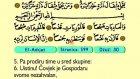 108. El Adıjat 1-11 - Kur'an-i Kerim (Arapski)