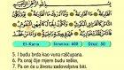 109. El Karia 1-11 - Kur'an-i Kerim (Arapski)