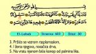 119. El Leheb 1-5 - Kur'an-i Kerim (Arapski)
