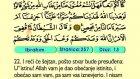 18. Ibrahım 1-52 - Kur'an-i Kerim (Arapski)