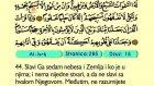21. El Isra 1-1-111 - Kur'an-i Kerim (Arapski)