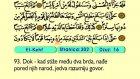 23. El Kehf 75-110 - Kur'an-i Kerim (Arapski)