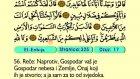 26. El Enbıja 1-112 - Kur'an-i Kerim (Arapski)