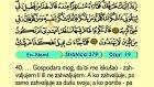 33. En Neml 1-93 - Kur'an-i Kerim (Arapski)