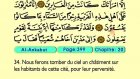 35. Al Ankabut 1-69 - Le Coran (Árabe)