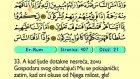 36. Er Rum 1-60 - Kur'an-i Kerim (Arapski)