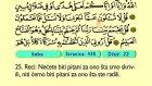 41. Seba 1-54 - Kur'an-i Kerim (Arapski)