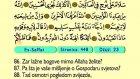 44. Es Suffat 1-182 - Kur'an-i Kerim (Arapski)