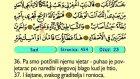 45. Sad 1-88 - Kur'an-i Kerim (Arapski)