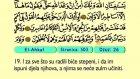 54. El Ahkaf 1-35 - Kur'an-i Kerim (Arapski)
