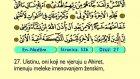 61. En Nedzm 1-62 - Kur'an-i Kerim (Arapski)