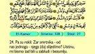 62. El Kamer 1-55 - Kur'an-i Kerim (Arapski)