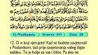 66. El Mudzadela 1-22 - Kur'an-i Kerim (Arapski)