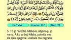 73. Et Talak 1-12 - Kur'an-i Kerim (Arapski)