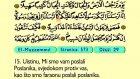 81. El Muzzemmıl 1-20 - Kur'an-i Kerim (Arapski)