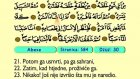 88. Abese 1-42 - Kur'an-i Kerim (Arapski)