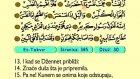 89. Et Tekvır 1-29 - Kur'an-i Kerim (Arapski)