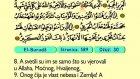 93. El Burudz 1-22 - Kur'an-i Kerim (Arapski)