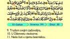 96. El Gasıje 1-26 - Kur'an-i Kerim (Arapski)