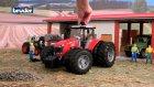 Bruder Massey Ferguson 7600 Traktör 03046 www bruderoyuncak com