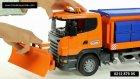 Bruder Scania R Serisi Kar Temizleme ve Tuzlama Aracı 03585