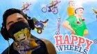 ŞİŞLENMEK :D - Happy Wheels :D
