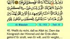 06. Al Ma'idah 1-82 - Der Heilege Kur'an (Arabisch)