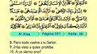 104. Al Alaq 1-19 - El Sagrado Coran (Árabe)