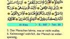 104. Al Alaq - Der Heilege Kur'an (Arabisch)