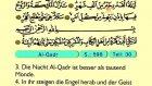 105. Aş Qadr - Der Heilege Kur'an (Arabisch)