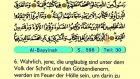 106. Al Bayyinah - Der Heilege Kur'an (Arabisch)