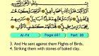 113. Al Fil 1-5 - The Holy Qur'an (Arabic)