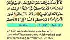 18. Ibrahim - Der Heilege Kur'an (Arabisch)