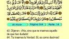 19. Al Hichr 1-89 - El Sagrado Coran (Árabe)