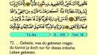 25. Taha - Der Heilege Kur'an (Arabisch)