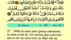 34. Al Qaşaş - Der Heilege Kur'an (Arabisch)