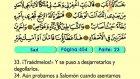 45. Sad 1-83 - El Sagrado Coran (Árabe)
