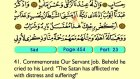 45. Sad 1-88 - The Holy Qur'an