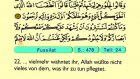 48. Fuşşilat 1-46 - Der Heilege Kur'an (Arabisch)