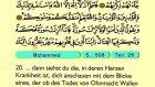 55. Muhammad - Der Heilege Kur'an (Arabisch)