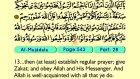 66. Al Mujadafa 1-22 - The Holy Qur'an