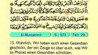 81. Al Muzzammil - Der Heilege Kur'an (Arabisch)