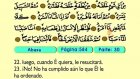 88. Abaasa 1-42 - El Sagrado Coran (Árabe)
