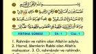 01. Fatiha - Arapça Okunuşlu - Mealli Kur'an-ı Kerim Hatim Seti
