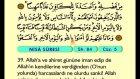 05. Nisa - Arapça Okunuşlu - Mealli Kur'an-ı Kerim Hatim Seti