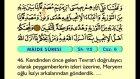 06. Mâide 1-82 - Türkçe Okunuşlu - Mealli Kur'an-ı Kerim Hatim Seti