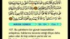 07. Mâide 83-120 - Türkçe Okunuşlu - Mealli Kur'an-ı Kerim Hatim Seti